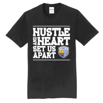 Hustle and Heart - Fan Favorite Tee Thumbnail