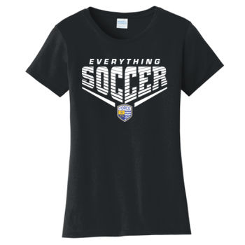 Everything Soccer Ladies - Ladies Fan Favorite Tee Thumbnail