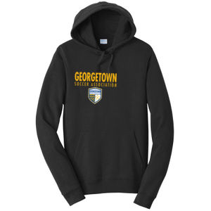 Georgetown SA - Gold w/ Crest - Adult Fleece Hoodie  Thumbnail