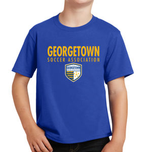 Georgetown SA - Gold w/ Crest - Youth Fan Favorite Tee  Thumbnail