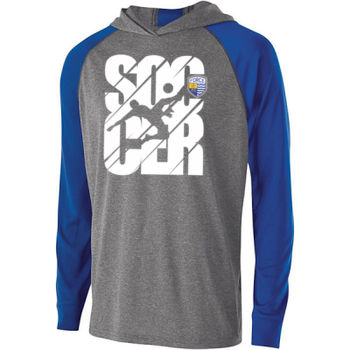 Soccer Icon - Holloway Adult Echo Hoodie Thumbnail