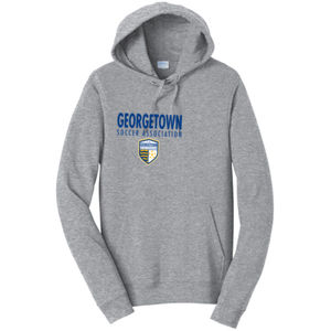 Georgetown SA - Royal w/ Crest - Adult Fleece Hoodie  Thumbnail