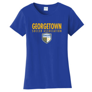 Georgetown SA - Gold w/ Crest- Ladies Fan Favorite Tee  Thumbnail