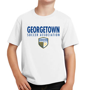 Georgetown SA - Royal w/ Crest - Youth Fan Favorite Tee  Thumbnail