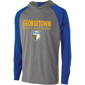 Georgetown SA - Gold w/ Crest - Holloway Youth Echo Hoodie  Thumbnail