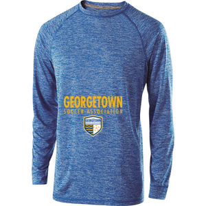 Georgetown SA - Gold w/ Crest - Holloway Electrify 2.0 Shirt Long Sleeve Thumbnail