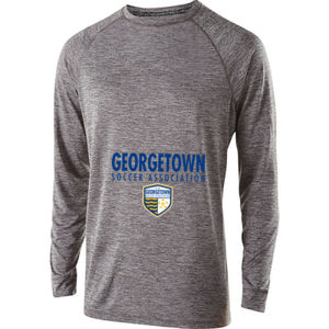 Georgetown SA - Royal w/ Crest - Holloway Electrify 2.0 Shirt Long Sleeve  Thumbnail