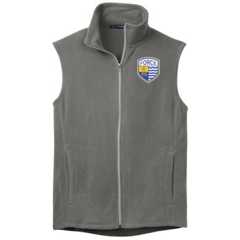 Georgetown Force FC - Port Authority Microfleece Vest Thumbnail
